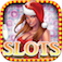 Awesome Girl Vegas Slot Christmas